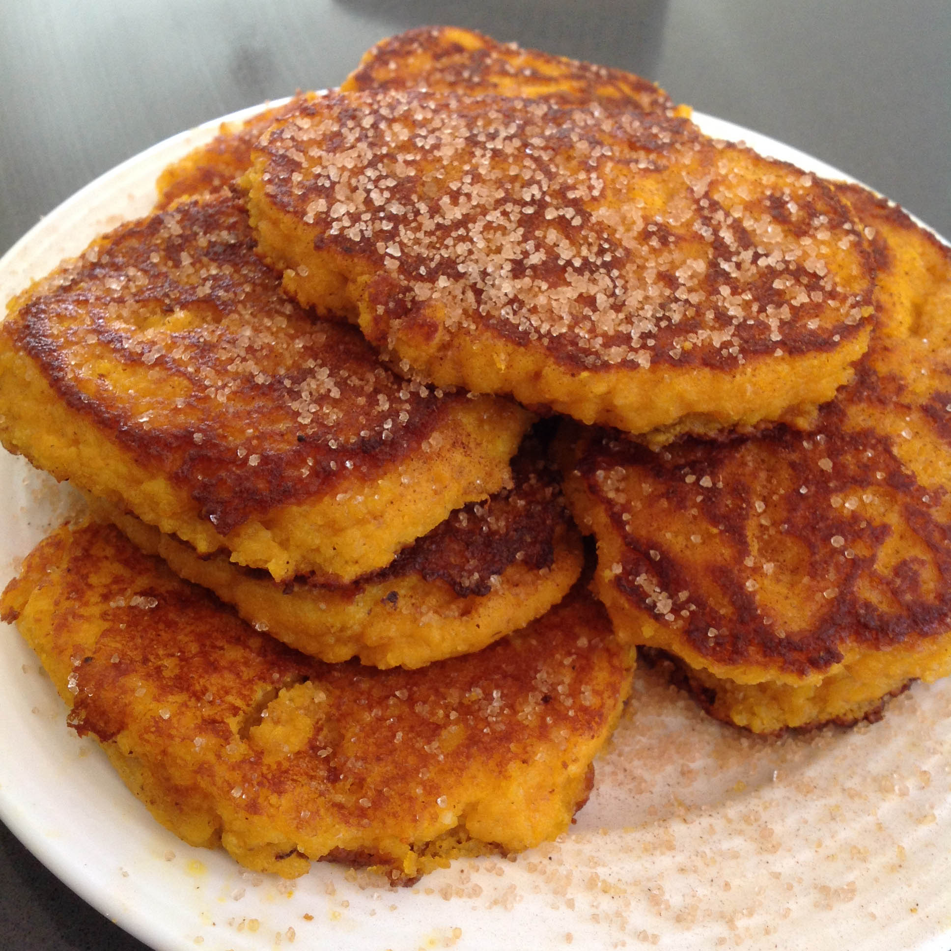 Pumpkin Fritters Love Of Banting